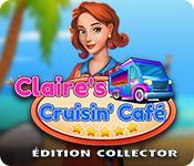 La fonctionnalité de capture d'écran de jeu Claire's Cruisin' Cafe Édition Collector