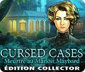 La fonctionnalité de capture d'écran de jeu Cursed Cases: Meurtre au Manoir Maybard Édition Collector