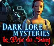 La fonctionnalité de capture d'écran de jeu Dark Lore Mysteries: Le Prix du Sang