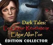 La fonctionnalité de capture d'écran de jeu Dark Tales:  Le Cœur Révélateur Edgar Allan Poe Édition Collector