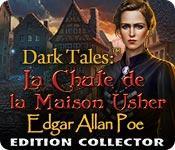 La fonctionnalité de capture d'écran de jeu Dark Tales: La Chute de la Maison Usher Edgar Allan Poe Edition Collector