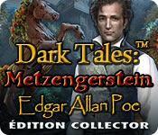 La fonctionnalité de capture d'écran de jeu Dark Tales: Metzengerstein Edgar Allan Poe Édition Collector