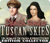 La fonctionnalité de capture d'écran de jeu Death Under Tuscan Skies: Un Roman de Dana Knightstone Edition Collector