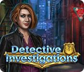 Feature screenshot game Detective Investigations