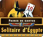 La fonctionnalité de capture d'écran de jeu Solitaire d'Égypte Paires de Cartes