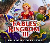 La fonctionnalité de capture d'écran de jeu Fables of the Kingdom III Édition Collector