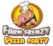 La fonctionnalité de capture d'écran de jeu Farm Frenzy Pizza Party