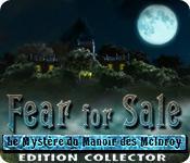 La fonctionnalité de capture d'écran de jeu Fear for Sale: Le Mystère du Manoir des McInroy Edition Collector