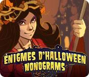 La fonctionnalité de capture d'écran de jeu Énigme d'Halloween Nonograms