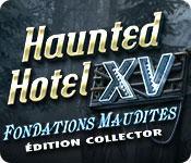 La fonctionnalité de capture d'écran de jeu Haunted Hotel: Fondations Maudites Édition Collector