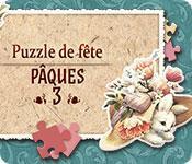 La fonctionnalité de capture d'écran de jeu Puzzle de Fête Pâques 3