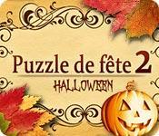 La fonctionnalité de capture d'écran de jeu Puzzle de Fête 2 Halloween