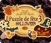 La fonctionnalité de capture d'écran de jeu Puzzle de Fête 3 Halloween