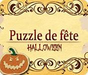 La fonctionnalité de capture d'écran de jeu Puzzle de Fête: Halloween