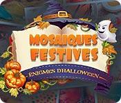 La fonctionnalité de capture d'écran de jeu Mosaïques Festives Énigmes d'Halloween