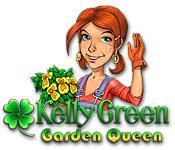 La fonctionnalité de capture d'écran de jeu Kelly Green Garden Queen