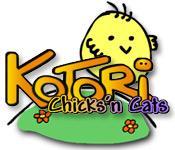 La fonctionnalité de capture d'écran de jeu Kotori Chicks`n Cats