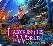 La fonctionnalité de capture d'écran de jeu Labyrinths of the World: L'Or des Fous