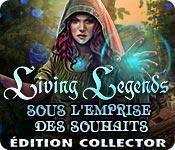 La fonctionnalité de capture d'écran de jeu Living Legends: Sous l'Emprise des Souhaits Édition Collector