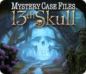 La fonctionnalité de capture d'écran de jeu Mystery Case Files ®: 13th Skull