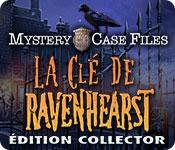 La fonctionnalité de capture d'écran de jeu Mystery Case Files: La Clé de Ravenhearst Édition Collector