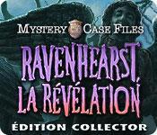 La fonctionnalité de capture d'écran de jeu Mystery Case Files: Ravenhearst, la Révélation Édition Collector