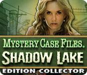 La fonctionnalité de capture d'écran de jeu Mystery Case Files®: Shadow Lake Edition Collector