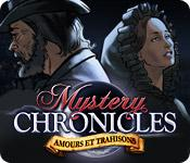 La fonctionnalité de capture d'écran de jeu Mystery Chronicles: Amours et Trahisons