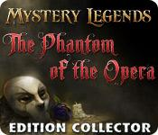 La fonctionnalité de capture d'écran de jeu Mystery Legends: The Phantom of the Opera Edition Collector