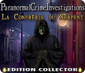 La fonctionnalité de capture d'écran de jeu Paranormal Crime Investigations: La Confrérie du Serpent Edition Collector