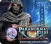 La fonctionnalité de capture d'écran de jeu Paranormal Files: La Connaissance Ultime Édition Collector