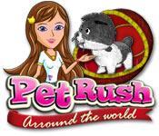 La fonctionnalité de capture d'écran de jeu Pet Rush: Arround the World