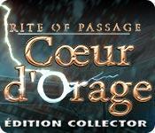 La fonctionnalité de capture d'écran de jeu Rite of Passage: Cœur d'Orage Édition Collector