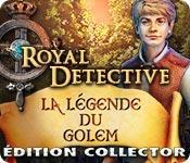 La fonctionnalité de capture d'écran de jeu Royal Detective: La Légende du Golem Édition Collector