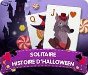 La fonctionnalité de capture d'écran de jeu Solitaire Histoire d'Halloween