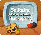 La fonctionnalité de capture d'écran de jeu Solitaire Paires de cartes Thanksgiving