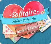 La fonctionnalité de capture d'écran de jeu Solitaire Match 2 Cards Saint-Valentin