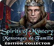 La fonctionnalité de capture d'écran de jeu Spirits of Mystery: Mensonges de Famille Édition Collector