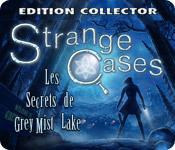 La fonctionnalité de capture d'écran de jeu Strange Cases: Les Secrets de Grey Mist Lake Edition Collector