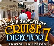 Feature screenshot game Vacation Adventures: Cruise Director 7 Édition Collector