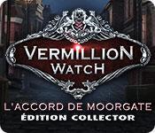La fonctionnalité de capture d'écran de jeu Vermillion Watch: L'Accord de Moorgate Édition Collector