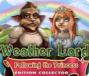 La fonctionnalité de capture d'écran de jeu Weather Lord: Following the Princess Édition Collector