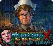 La fonctionnalité de capture d'écran de jeu Whispered Secrets: Terrible Beauté