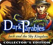 Funzione di screenshot del gioco Dark Parables: Jack and the Sky Kingdom Collector's Edition