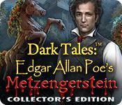 Funzione di screenshot del gioco Dark Tales: Edgar Allan Poe's Metzengerstein Collector's Edition