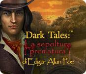 Funzione di screenshot del gioco Dark Tales: La sepoltura prematura di Edgar Allan Poe