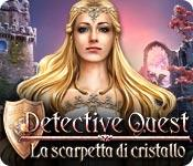 Funzione di screenshot del gioco Detective Quest: La scarpetta di cristallo
