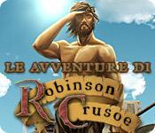 Funzione di screenshot del gioco Le avventure di Robinson Crusoe