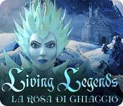 Funzione di screenshot del gioco Living Legends: La rosa di ghiaccio