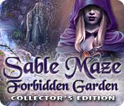 Funzione di screenshot del gioco Sable Maze: Forbidden Garden Collector's Edition